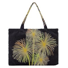 Dandelions Medium Zipper Tote Bag