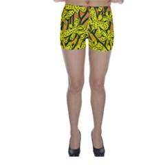 Bees Skinny Shorts
