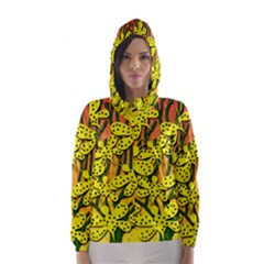 Bees Hooded Wind Breaker (Women)