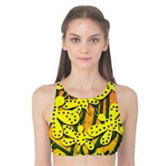 Bees Tank Bikini Top