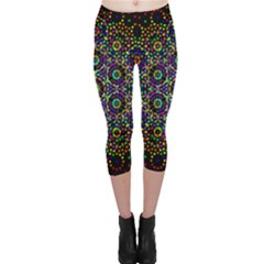The Flower Of Life Capri Leggings