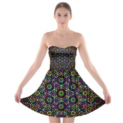 The Flower Of Life Strapless Bra Top Dress