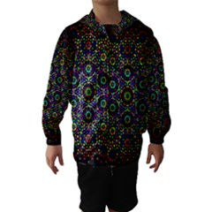 The Flower Of Life Hooded Wind Breaker (Kids)