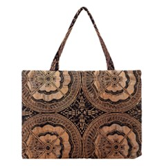 The Art Of Batik Printing Medium Tote Bag