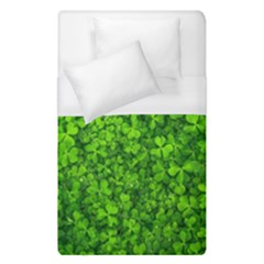 Shamrock Clovers Green Irish St  Patrick Ireland Good Luck Symbol 8000 Sv Duvet Cover Single Side (single Size)