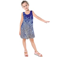 crystalline branches Kids  Sleeveless Dress