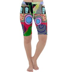 Tractor Cropped Leggings