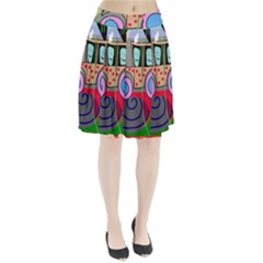Tractor Pleated Skirt