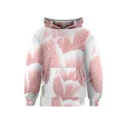 Red Tulip pencil drawing Kids  Pullover Hoodie