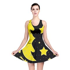 Sleeping moon Reversible Skater Dress