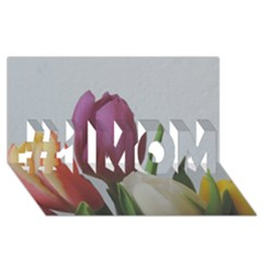 Tulips #1 MOM 3D Greeting Cards (8x4)