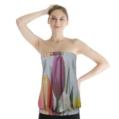 Tulips Strapless Top