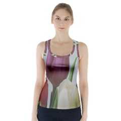 Tulips Racer Back Sports Top