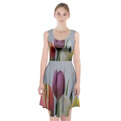 Tulips Racerback Midi Dress