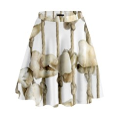 Hanging Human Teeth Dentist Funny Dream Catcher Dental High Waist Skirt