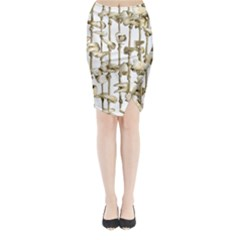 Hanging Human Teeth Dentist Funny Dream Catcher Dental Midi Wrap Pencil Skirt