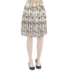 Hanging Human Teeth Dentist Funny Dream Catcher Dental Pleated Skirt