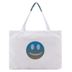 Smiley Medium Zipper Tote Bag