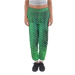 Green Abstract Forest Women s Jogger Sweatpants