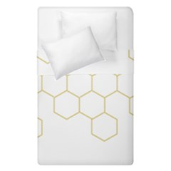 Honeycomb Pattern Graphic Design Duvet Cover (single Size)