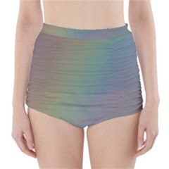 Between the Rainbow High-Waisted Bikini Bottoms