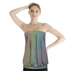 Between The Rainbow Strapless Top