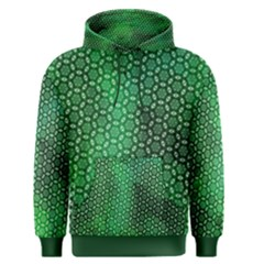 Green Abstract Forest Men s Pullover Hoodie