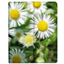 White summer flowers, watercolor painting Apple iPad Mini Flip Case View1
