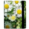 White summer flowers, watercolor painting Apple iPad Mini Flip Case View2