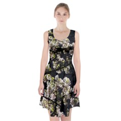 Japanese Cherry Blossom Racerback Midi Dress