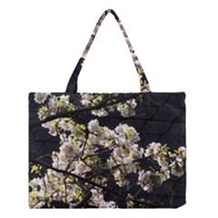 Japanese cherry blossom Medium Tote Bag