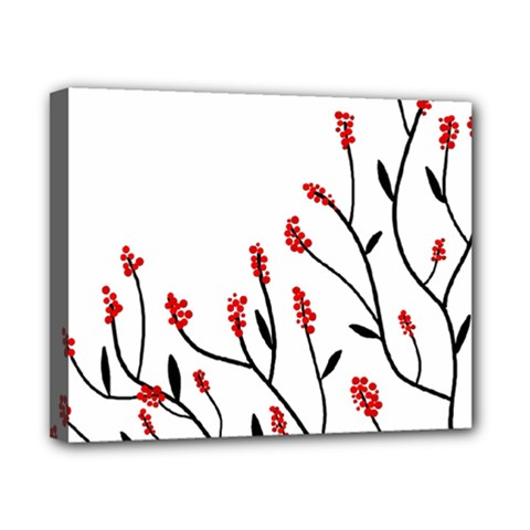 Elegant tree Canvas 10  x 8
