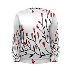 Elegant tree Women s Sweatshirt