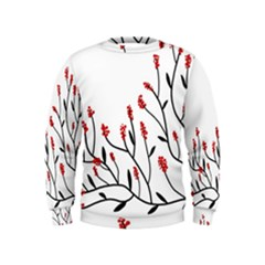Elegant tree Kids  Sweatshirt