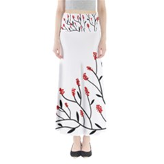 Elegant tree Maxi Skirts
