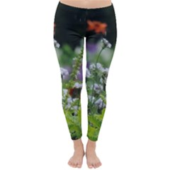 Wild Flowers Winter Leggings