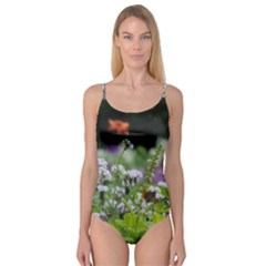 Wild Flowers Camisole Leotard