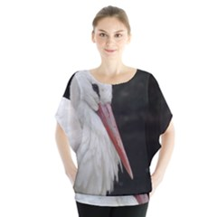 Stork Bird Blouse