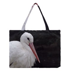 Stork Bird Medium Tote Bag