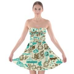 Telegramme Strapless Bra Top Dress