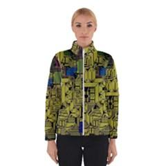 Technology Circuit Board Winterwear