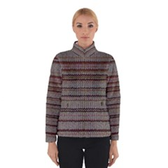 Stripy Knitted Wool Fabric Texture Winterwear