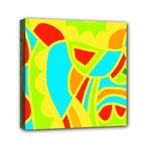 Colorful decor Mini Canvas 6  x 6