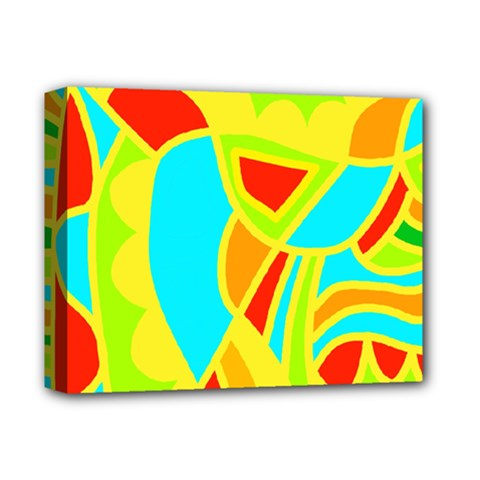 Colorful decor Deluxe Canvas 14  x 11