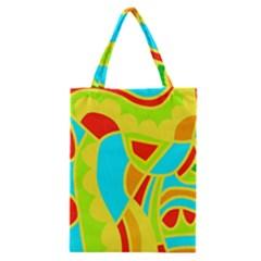 Colorful decor Classic Tote Bag
