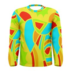 Colorful decor Men s Long Sleeve Tee