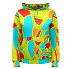Colorful decor Women s Pullover Hoodie