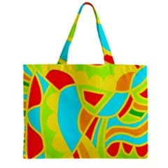 Colorful decor Zipper Mini Tote Bag