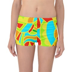 Colorful decor Boyleg Bikini Bottoms