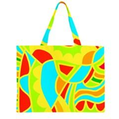 Colorful decor Large Tote Bag